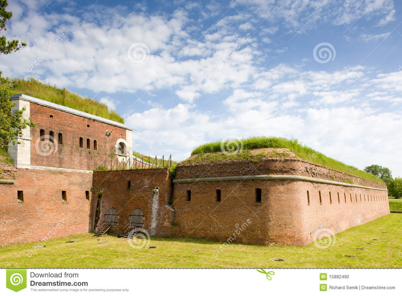 Fortification, Zamosc Stock Photo - Image: 15882490