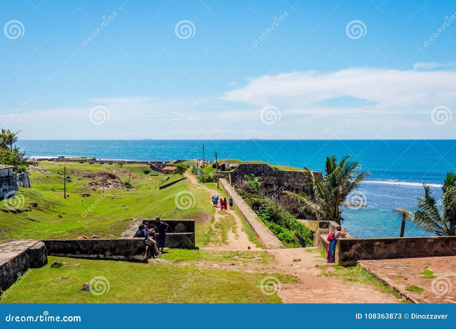 Fortificazione di Galle, Sri Lanka