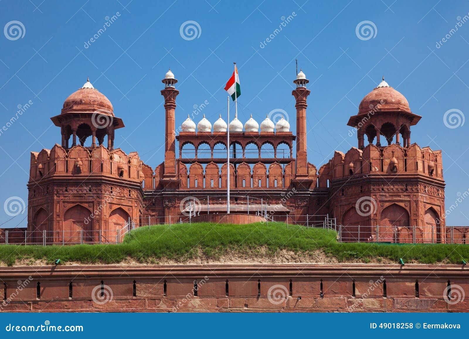 Fortificazione rossa a Delhi