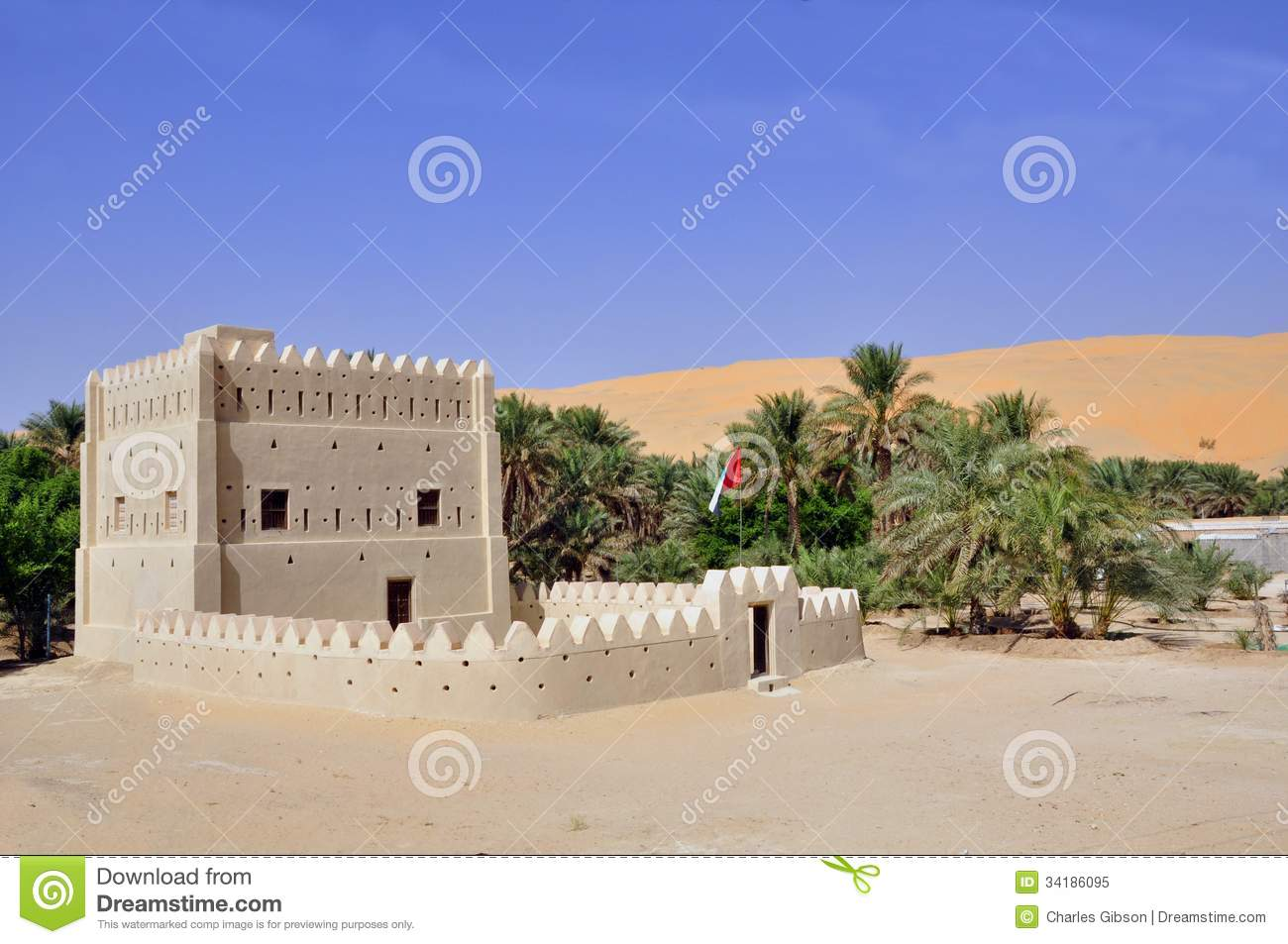 Fortified home liwa royalty free stock photo image for Fortified home plans