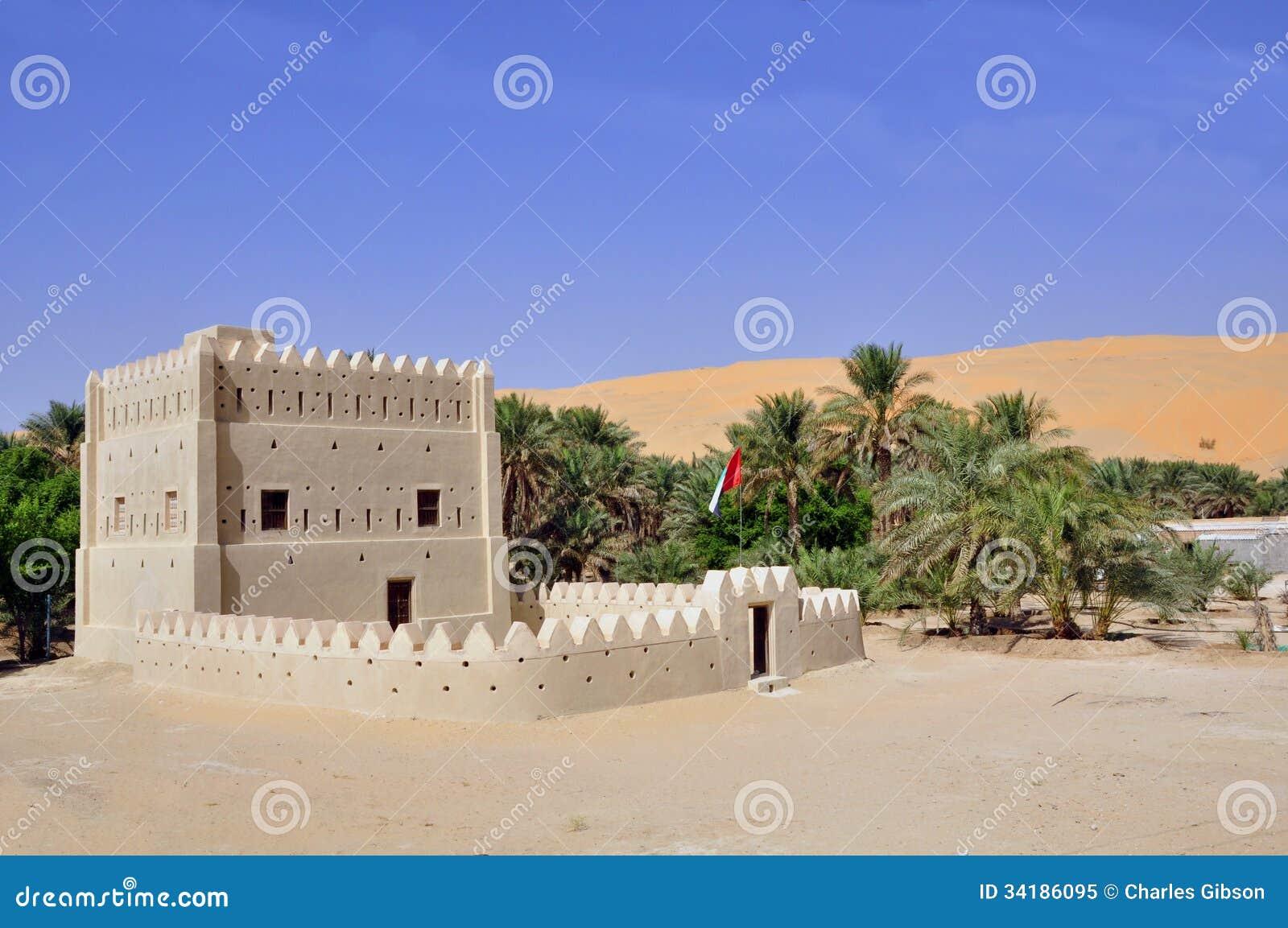 Fortified Home Liwa Royalty Free Stock Photo Image