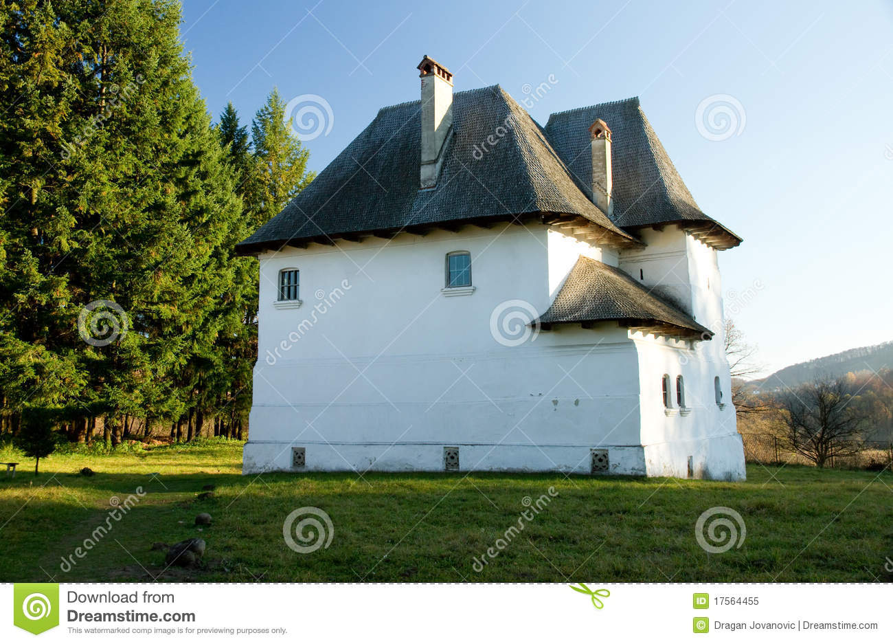 Fortified romanian villa royalty free stock photo image for Fortified house plans