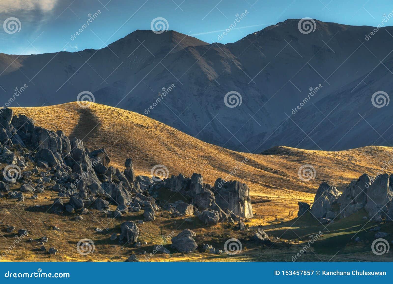 Fortifique o monte, parque nacional da passagem do ` s de Arthur