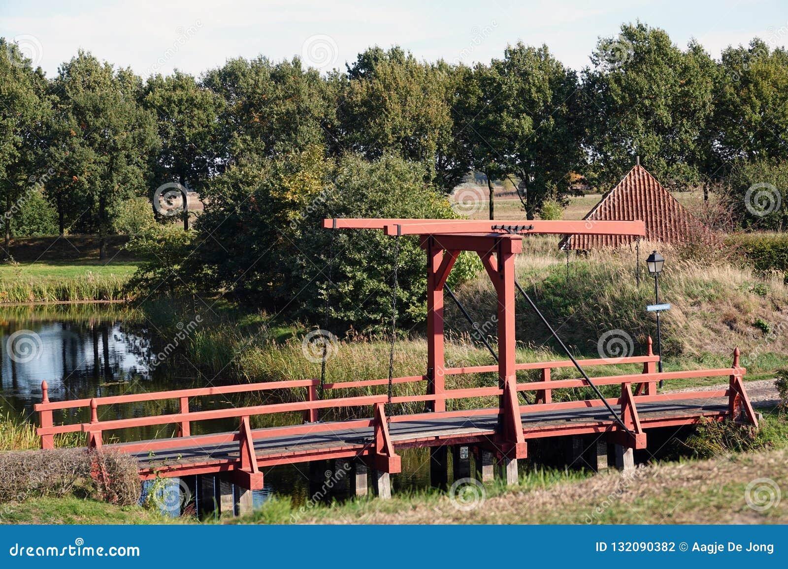 Bridge Of Vesting In Fortress Photo Netherlands Stock The Bourtange Y6mfgyIbv7