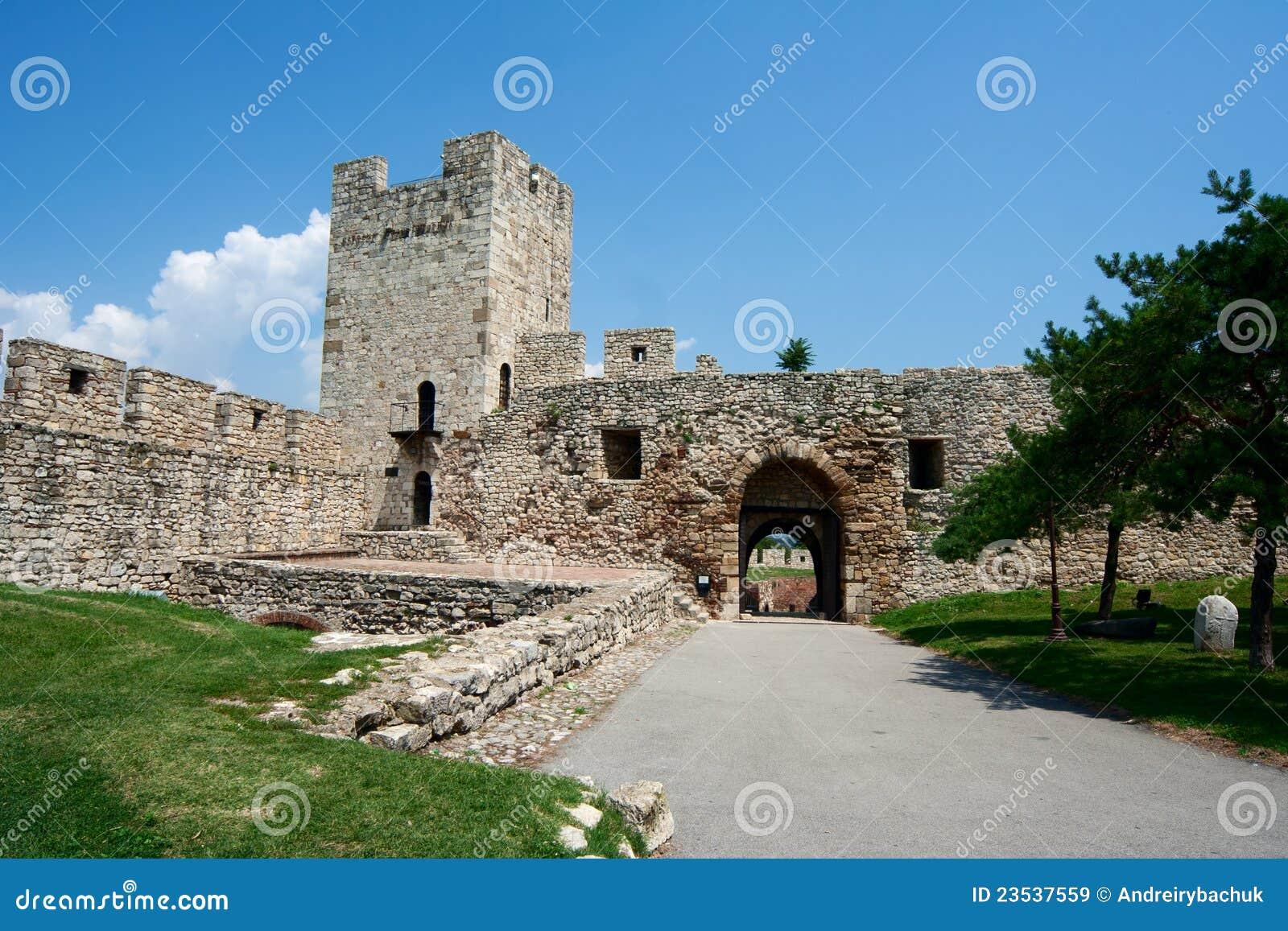 Fortress Kalemegdan in Belgrade