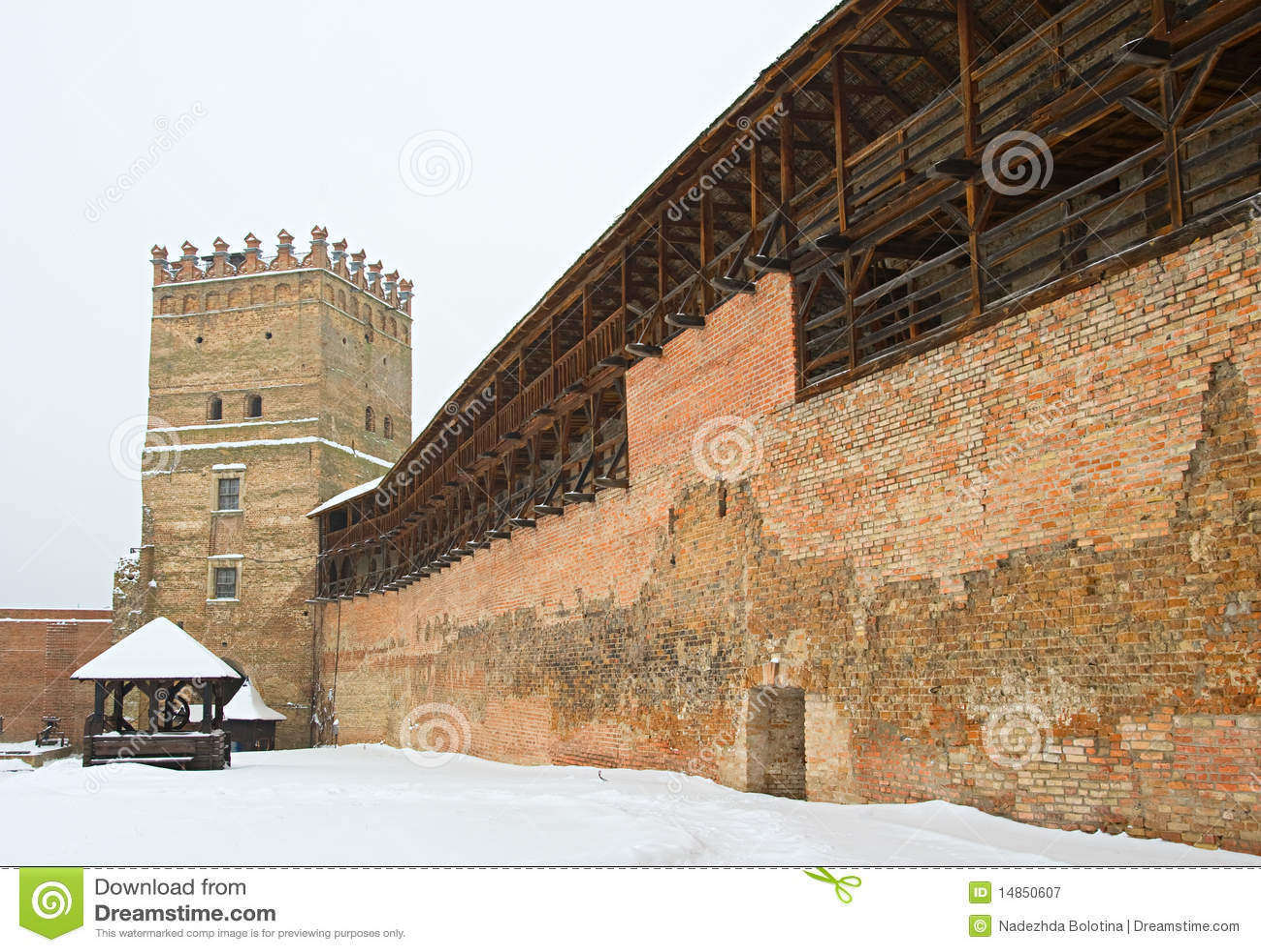 Fortress in Lutsk, Ukraine