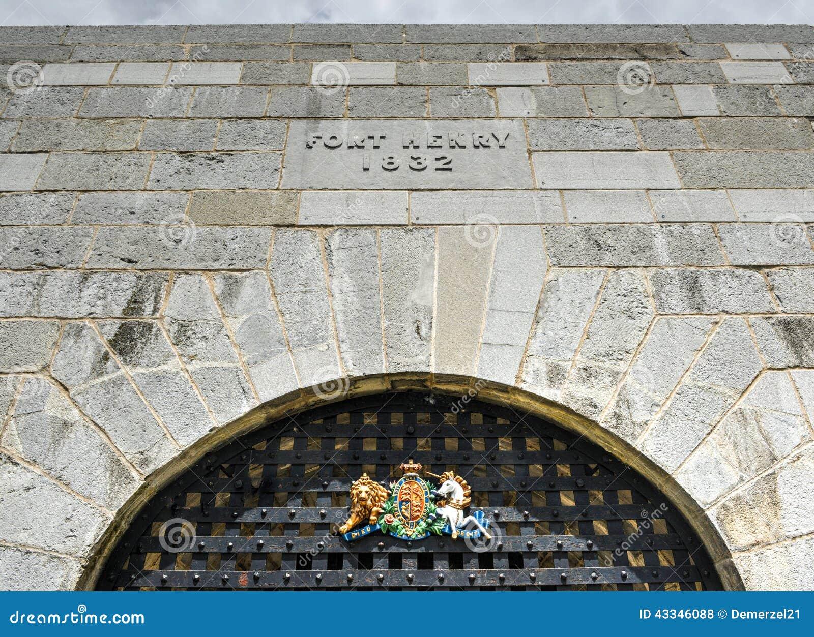 Fortu Henry znak, Ontario, Kanada