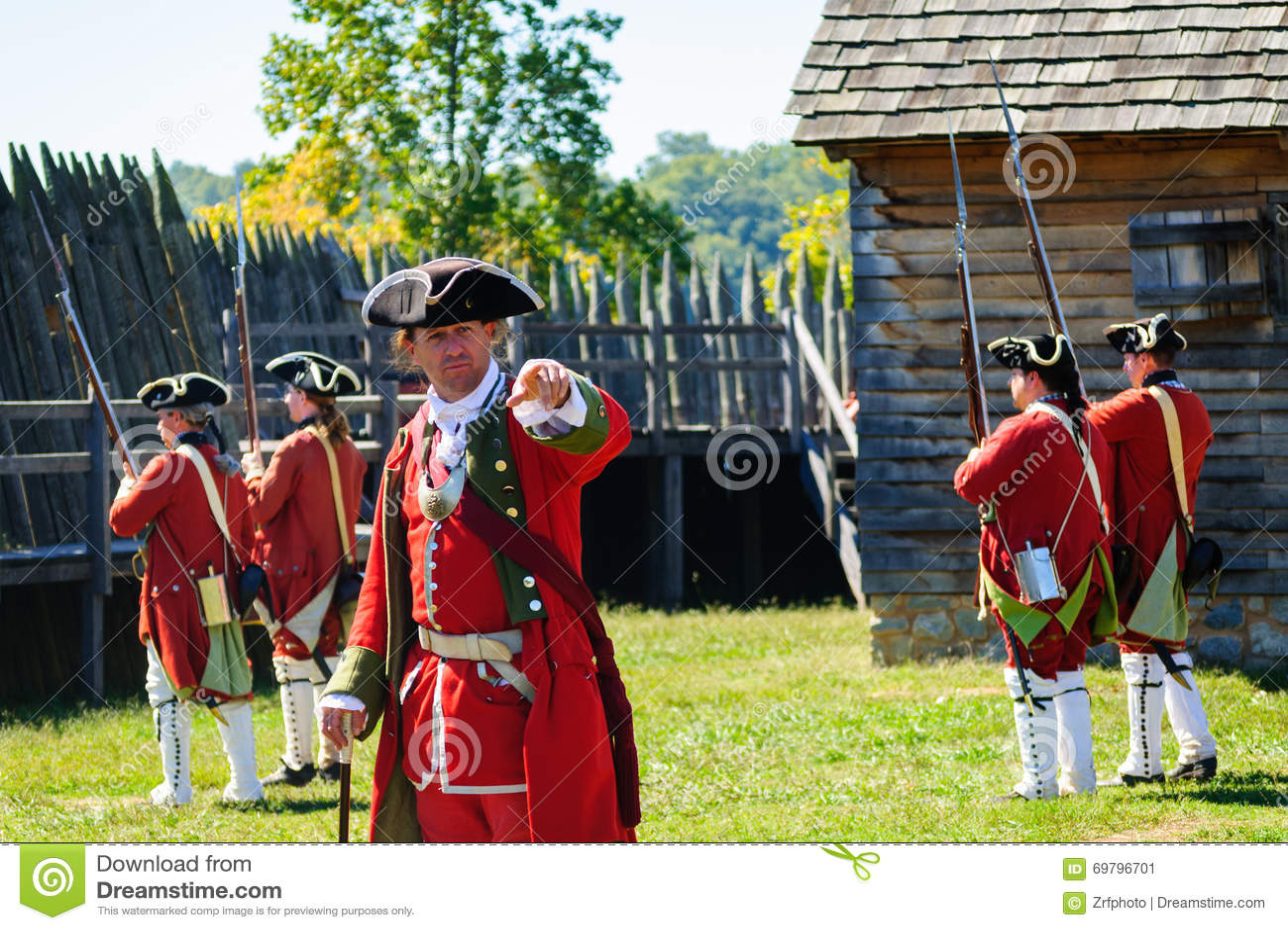 Fortu Loudoun stanu Historyczny miejsce