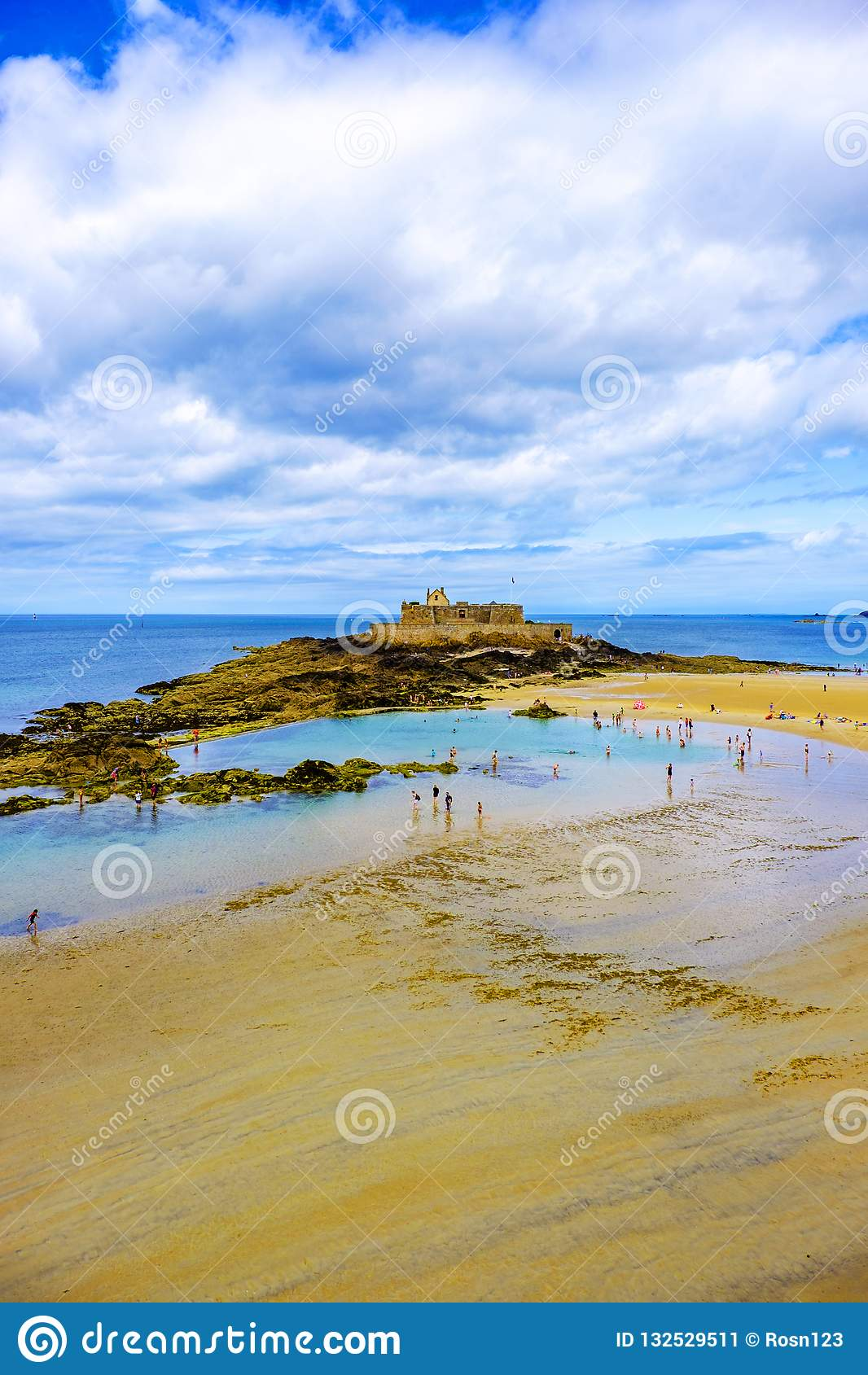 Fortu obywatel Saint Malo Brittany Francja