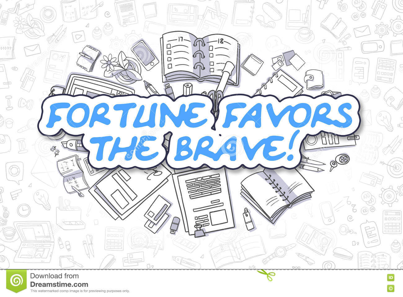532 Words Short Essay on fortune Favors the Brave (free to read)