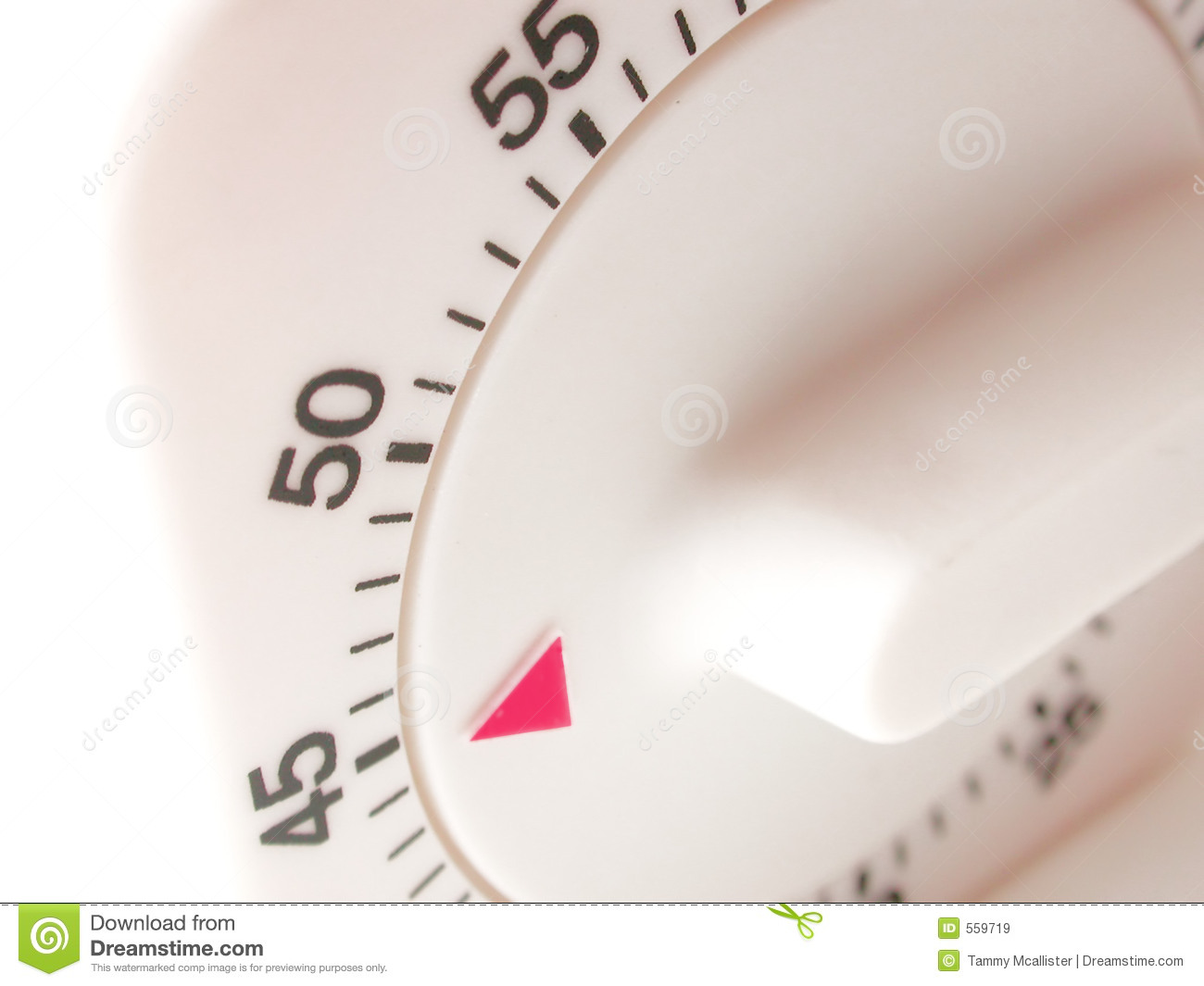 forty five minutes on timer stock image image of measure chrono