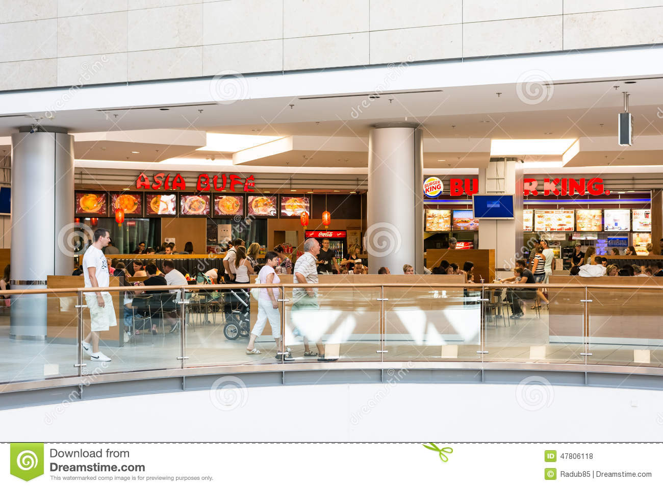 d1ebe01d28eb Forum Debrecen Shopping Mall Editorial Stock Photo - Image of food ...