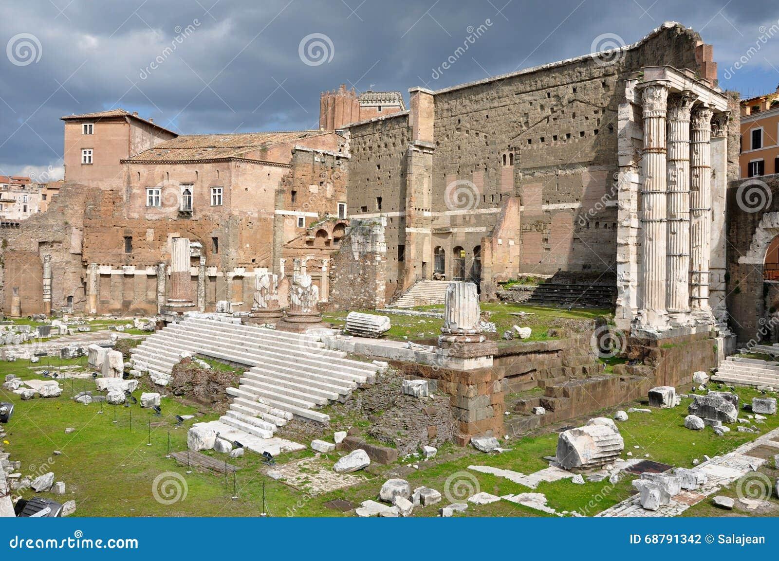 Forum imperiale dell 39 imperatore augusto belle vecchie - Le finestre roma ...