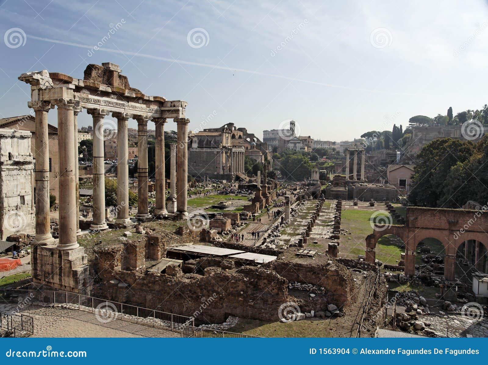 Forum romana Rzymu