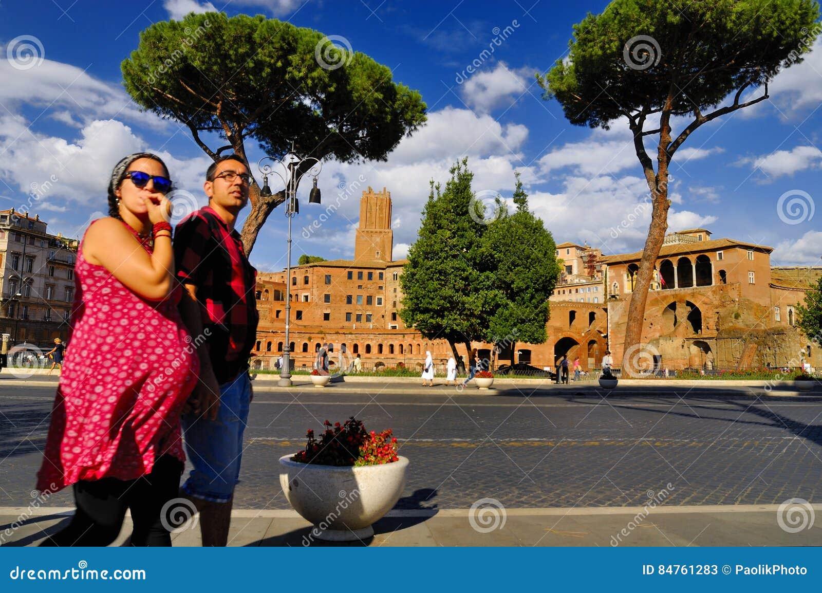 FORUM ROMANUM, ROM, ITALIEN 24. SEPTEMBER