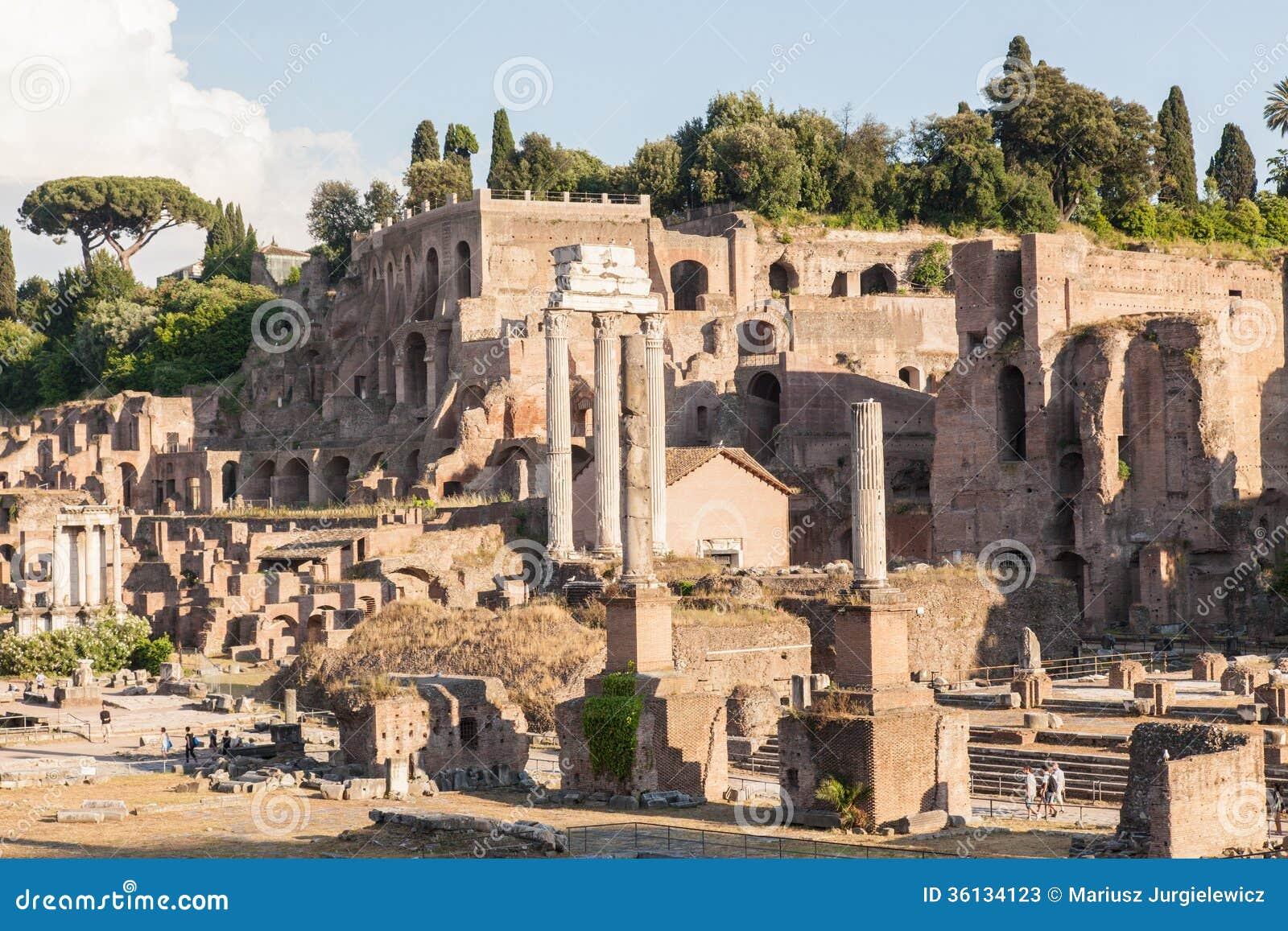 Forum Romanum, Stock Photos - Image: 36134123