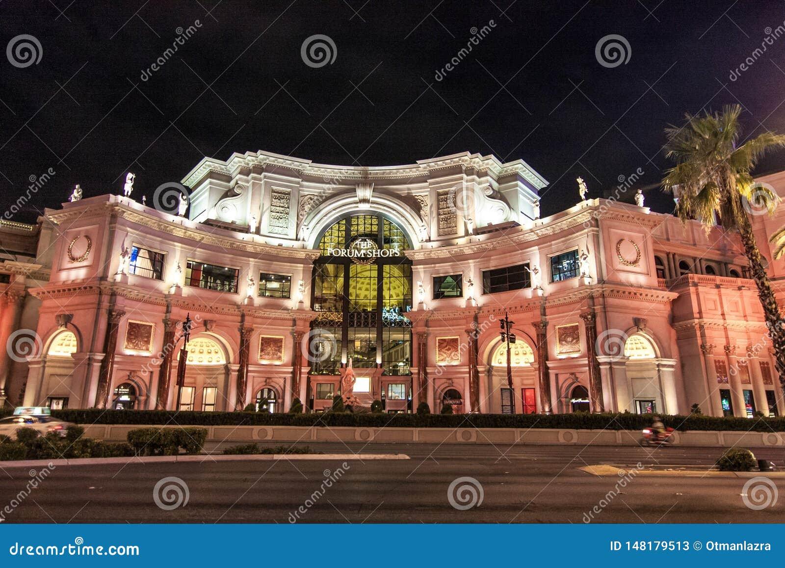 Forum shoppar i Las Vegas, Nevada