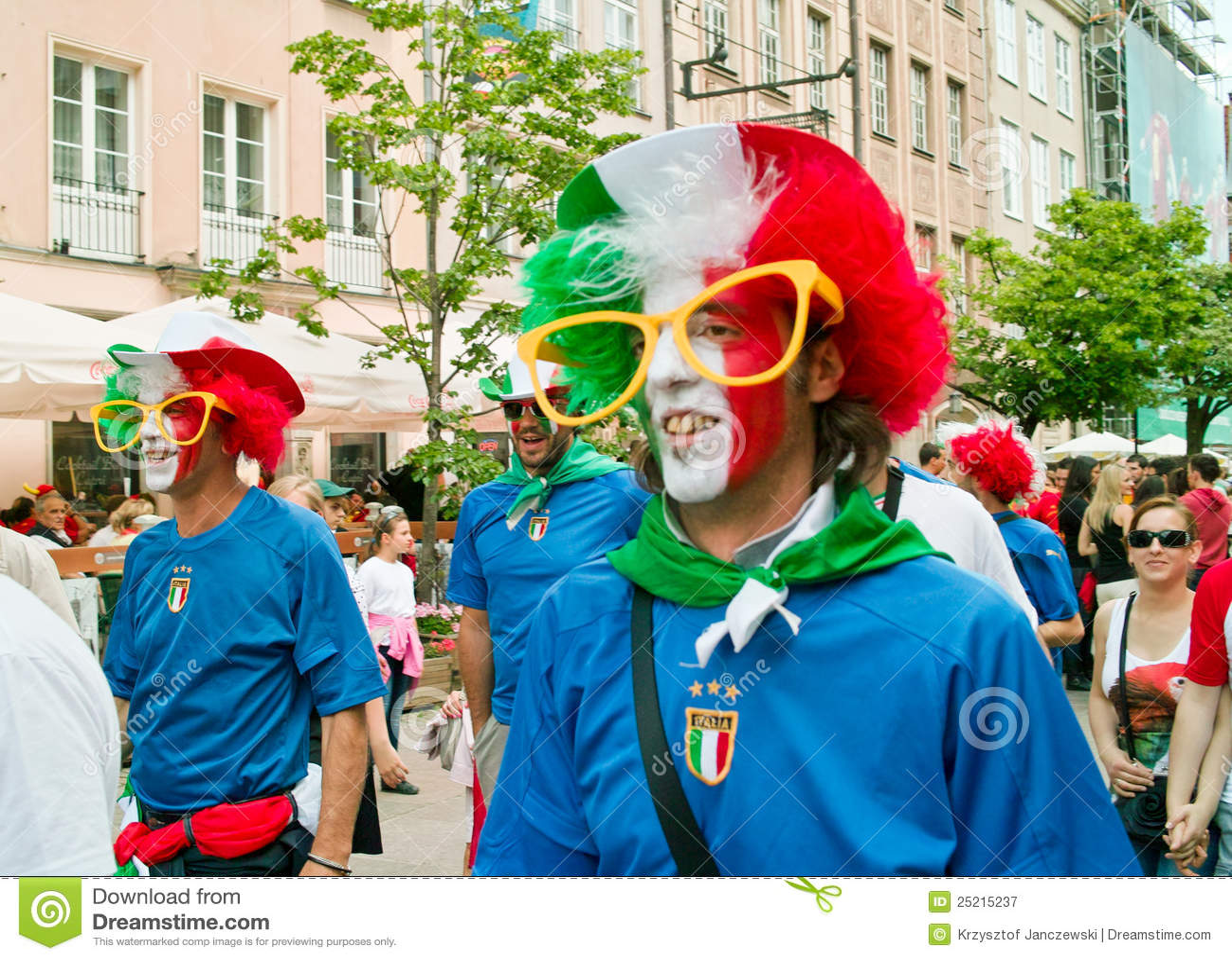 Lawn Sign Forza Italia