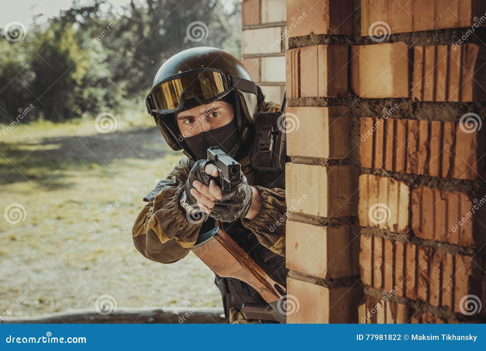 Forza speciale russa della polizia
