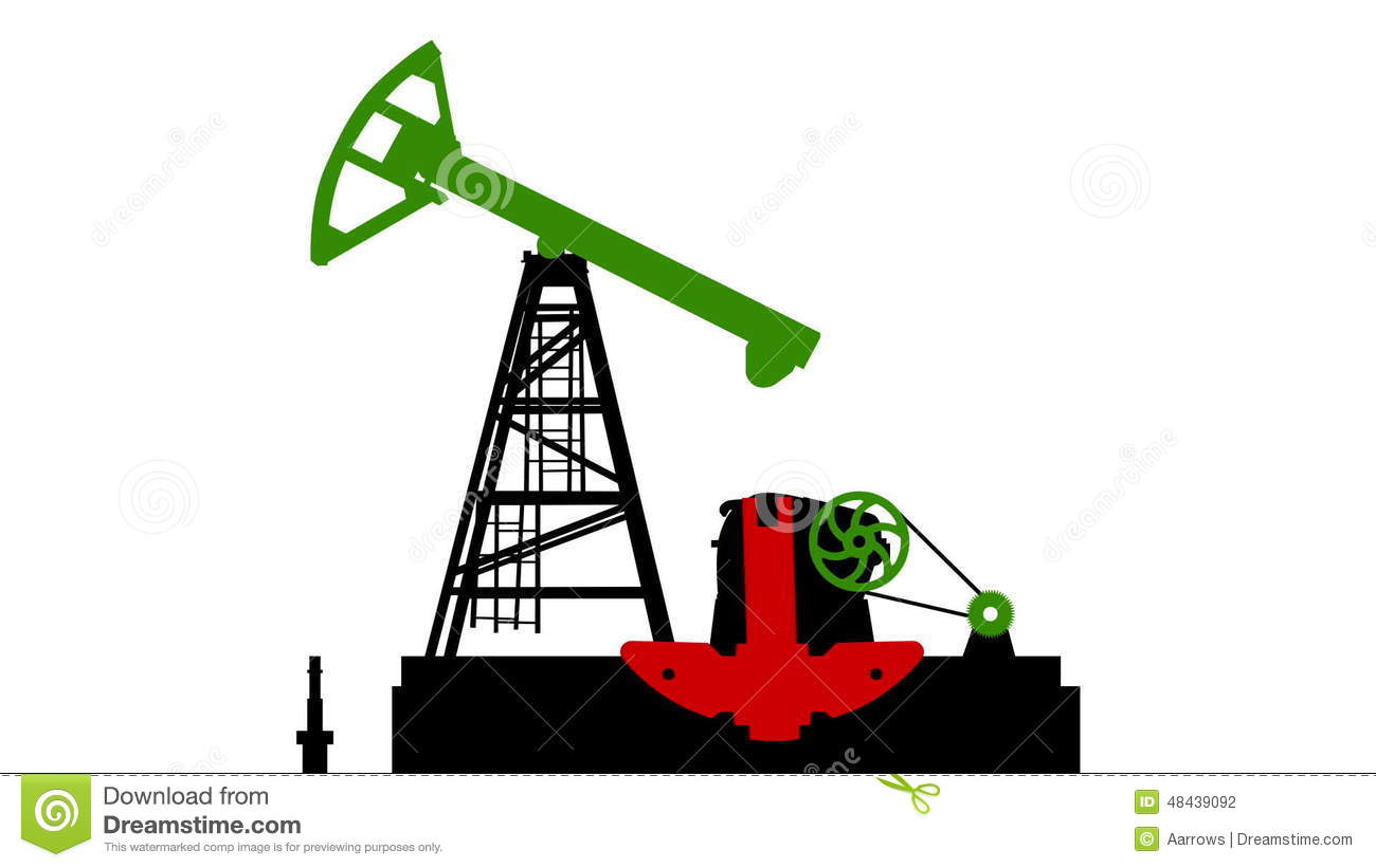 fossil fuel energy oil pump isolated on white background with b w rh dreamstime com Dinosaur Fossil Cartoon Fossil Energy Clip Art