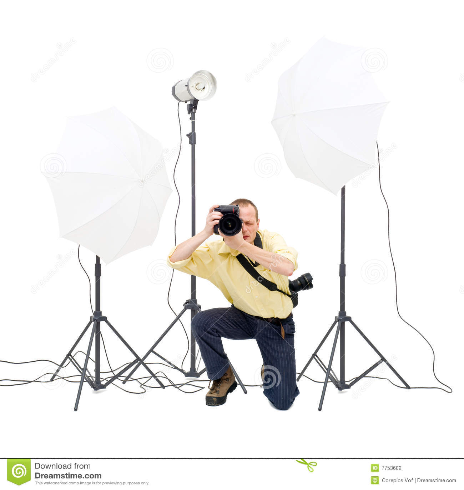 Fotógrafo del estudio