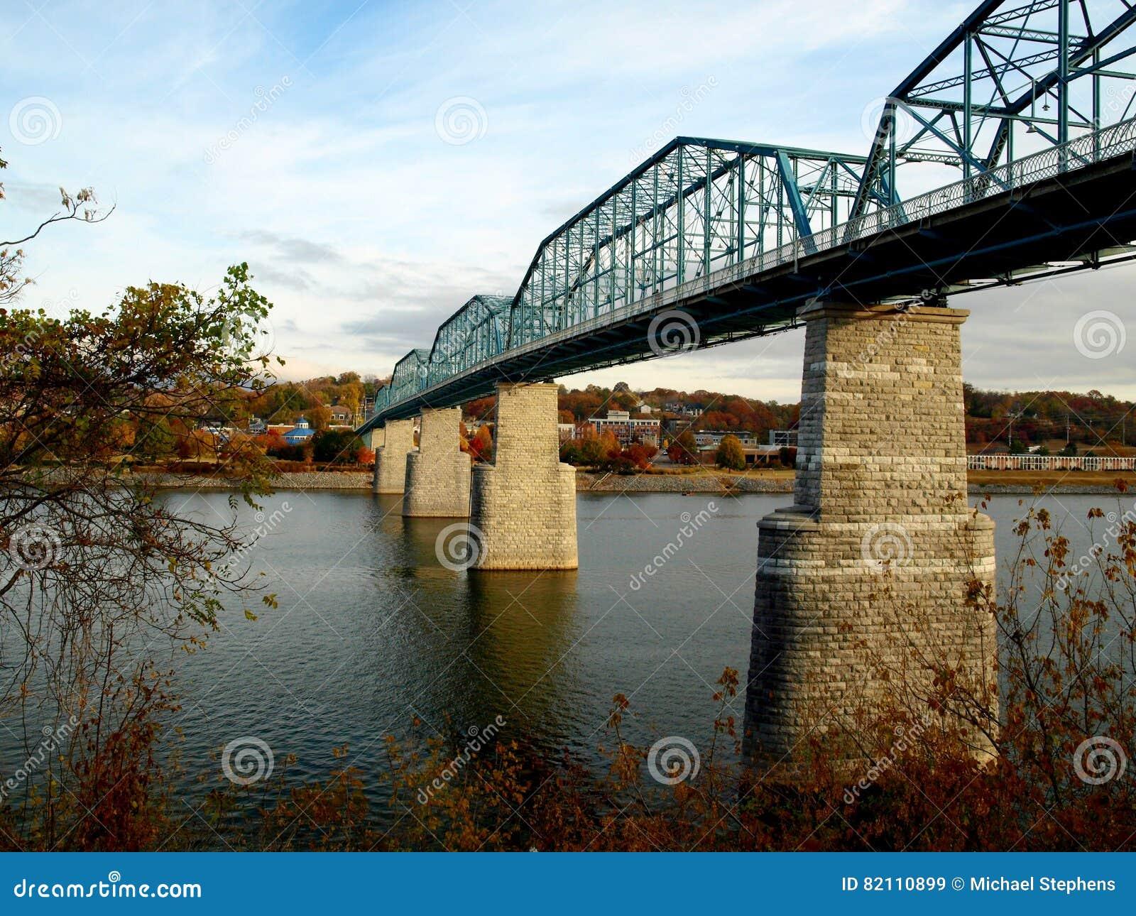 Fot- bro för valnötgata--Chattanooga