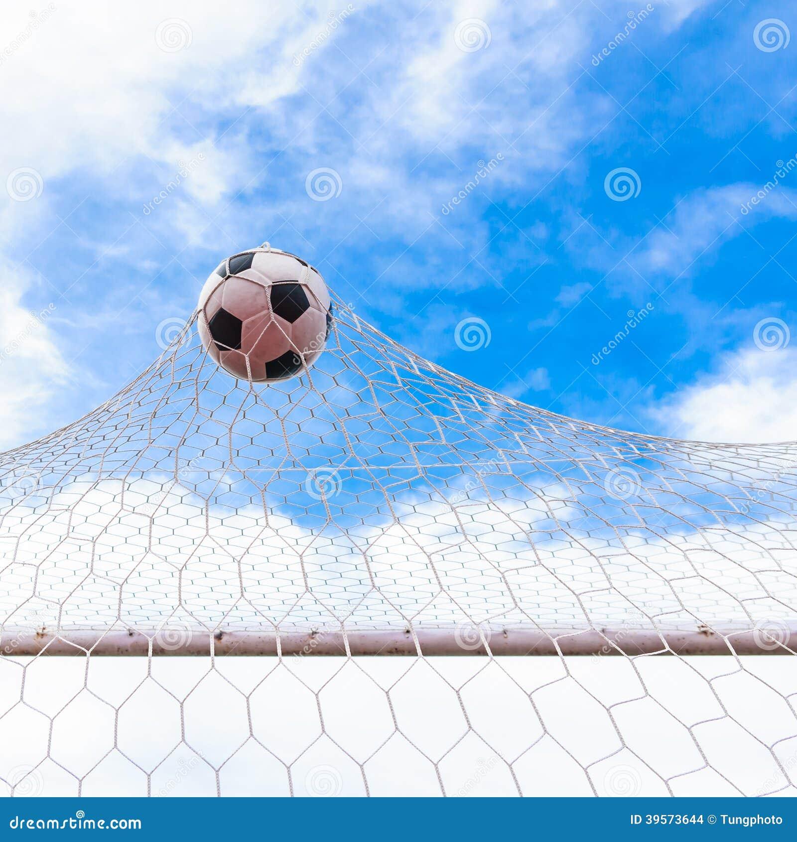 Fotboll i mål förtjänar
