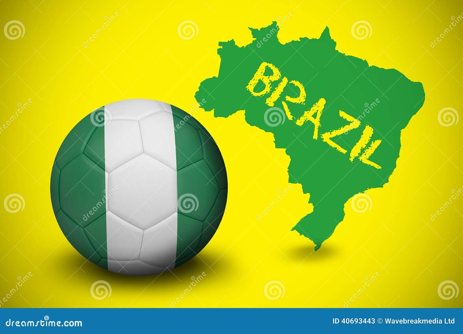 brasilien mot nigeria