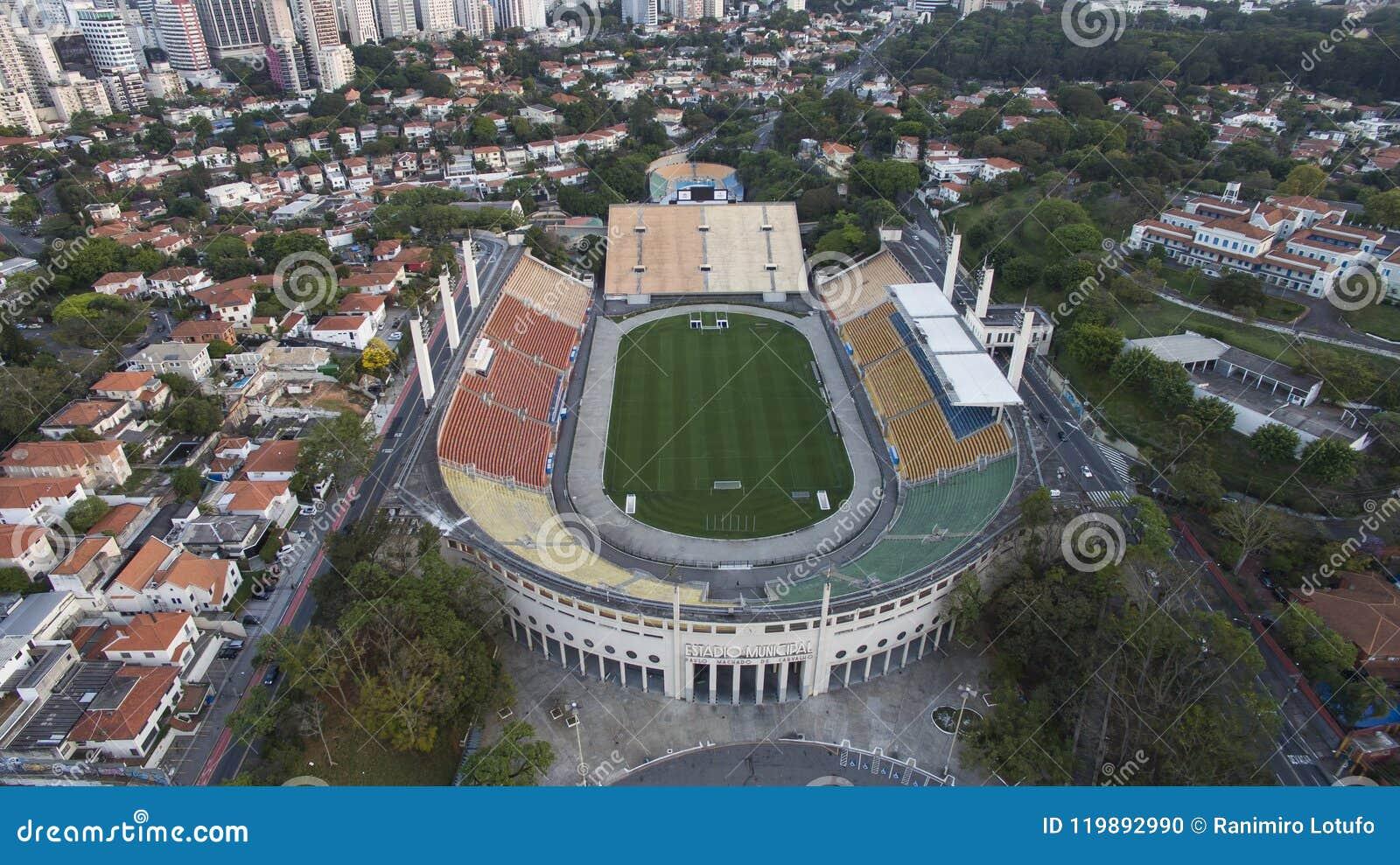 Fotboll runt om världen, Pacaembu stadionSao Paulo Brazil