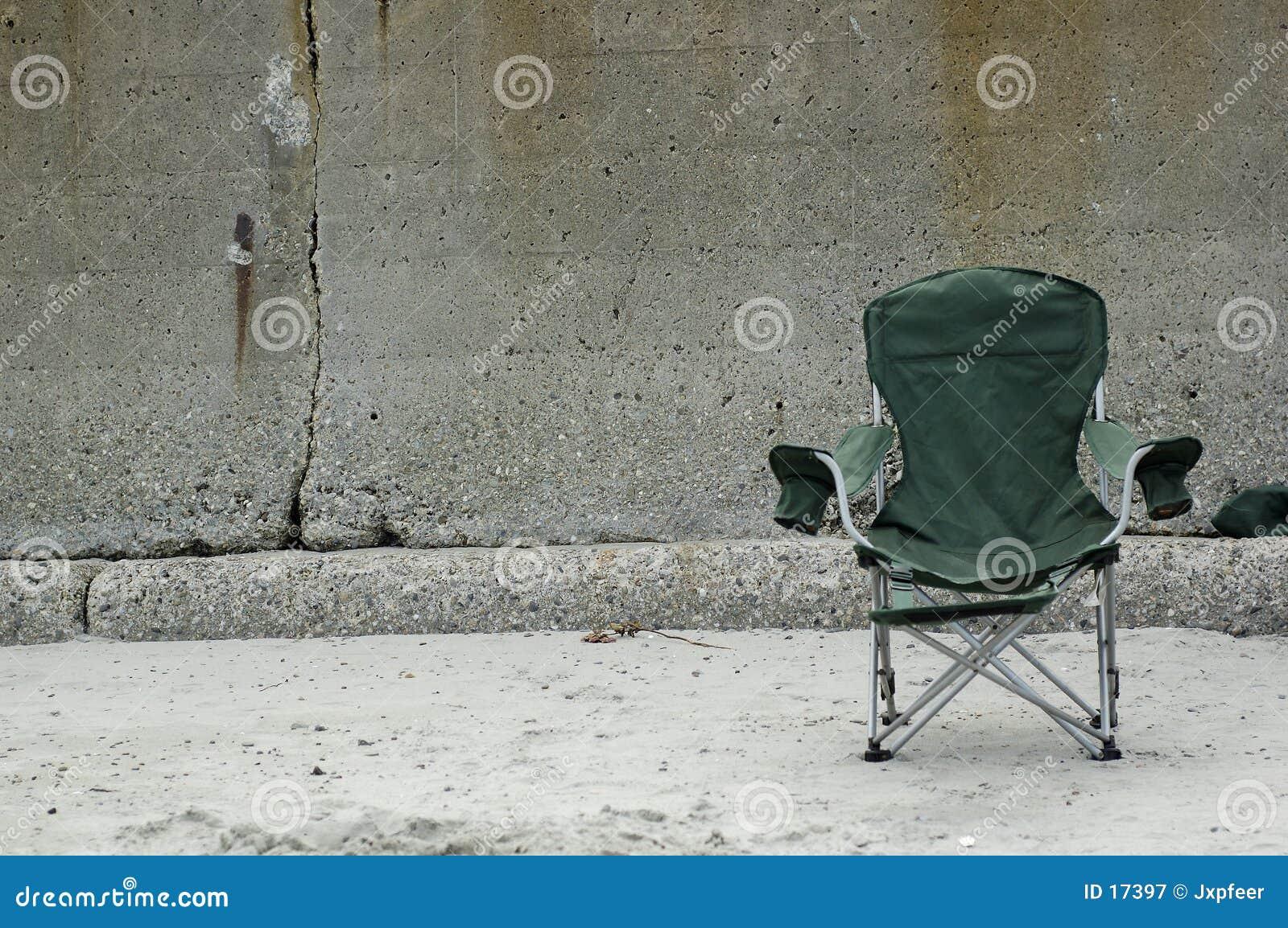 Fotel na plaży