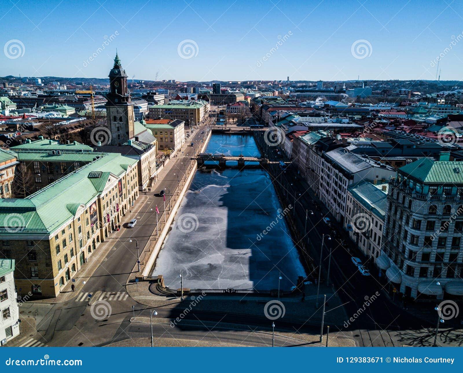 Foto del abejón - Goteburgo hermoso Suecia
