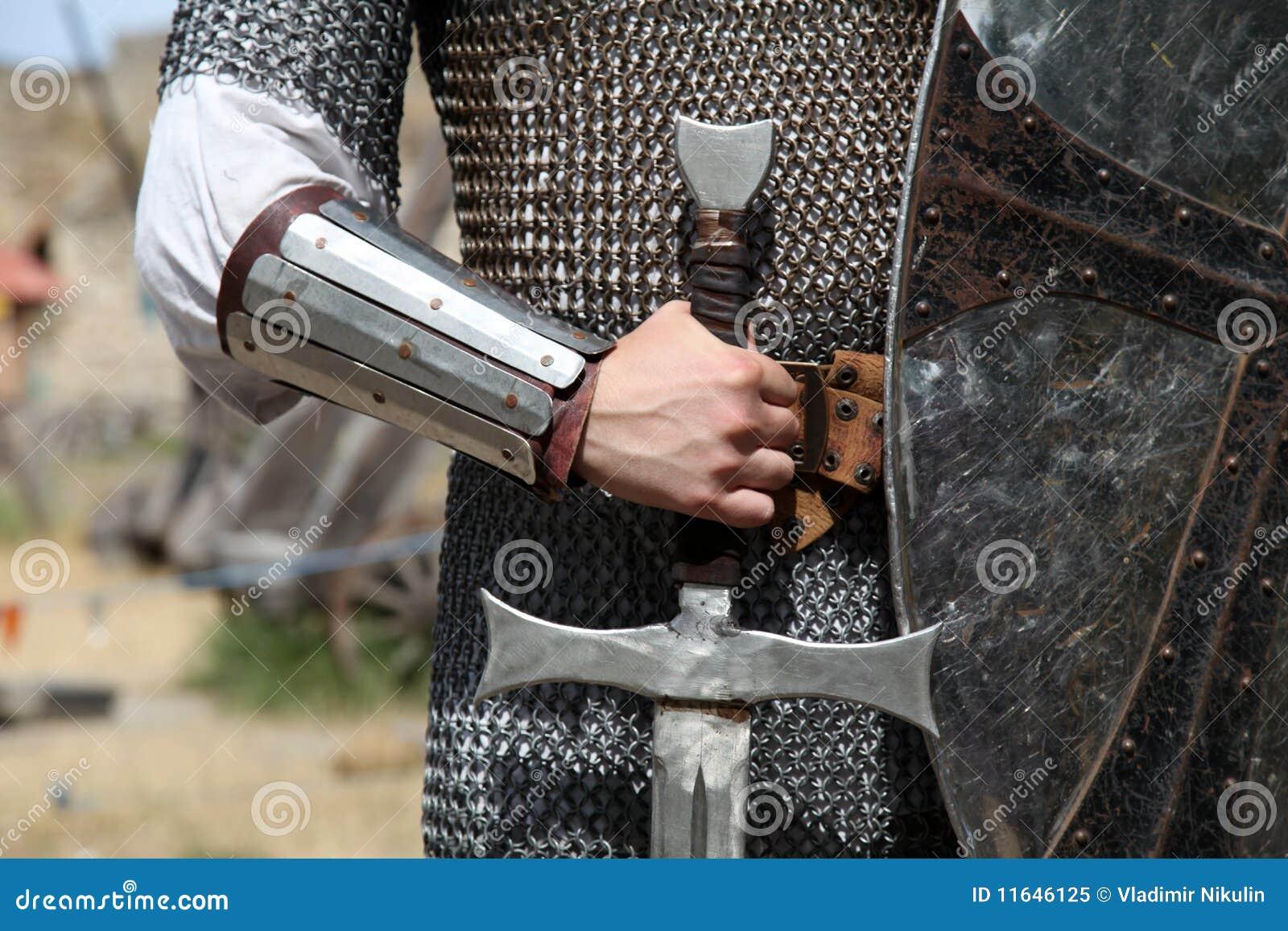 Foto del caballero con la espada