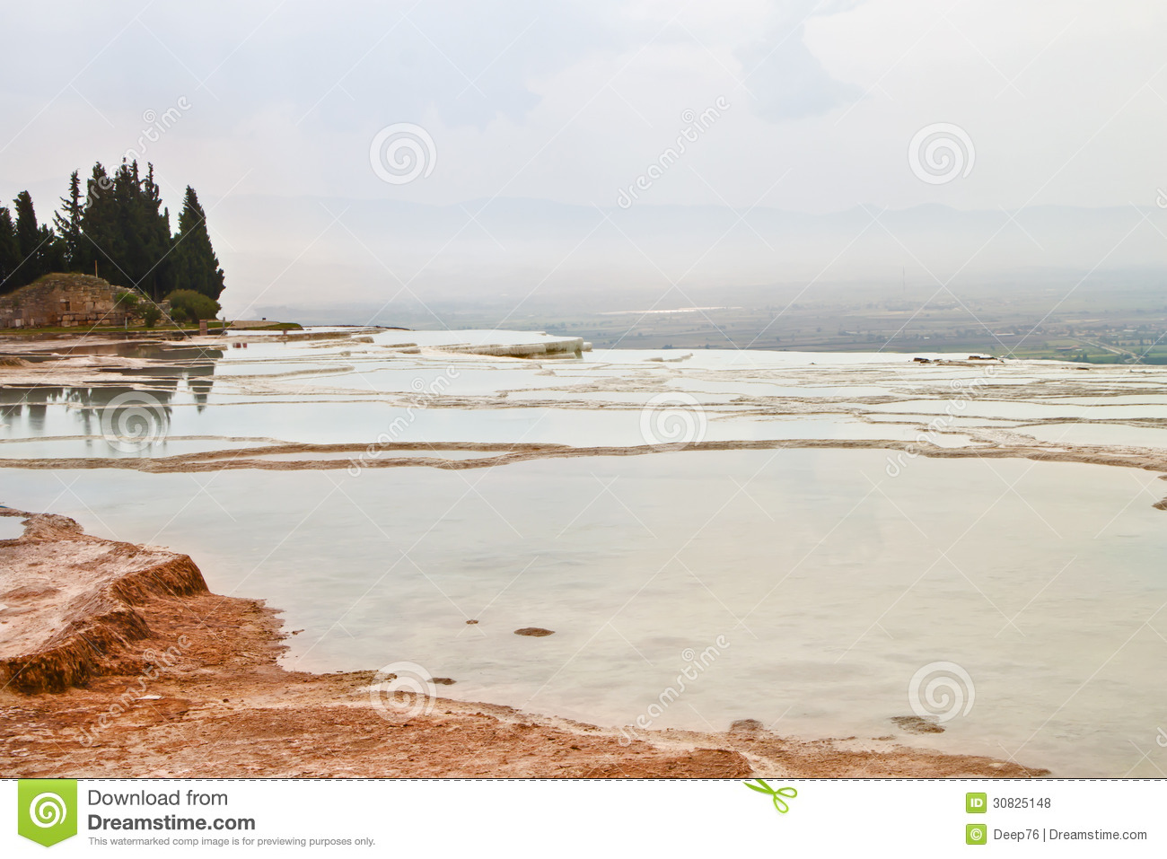 Foto del travertino di Pamukkale