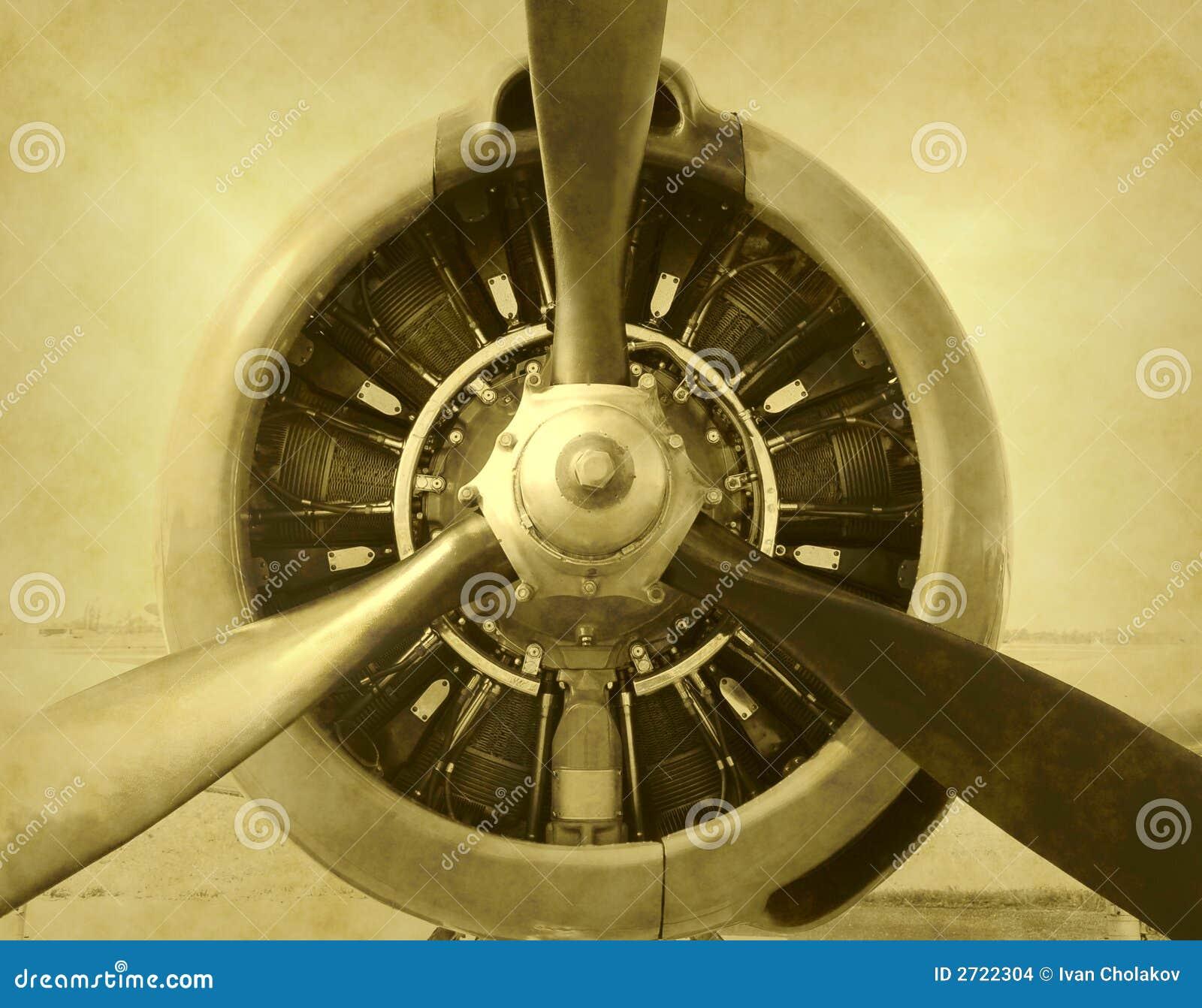 Foto dell aeroplano dell annata