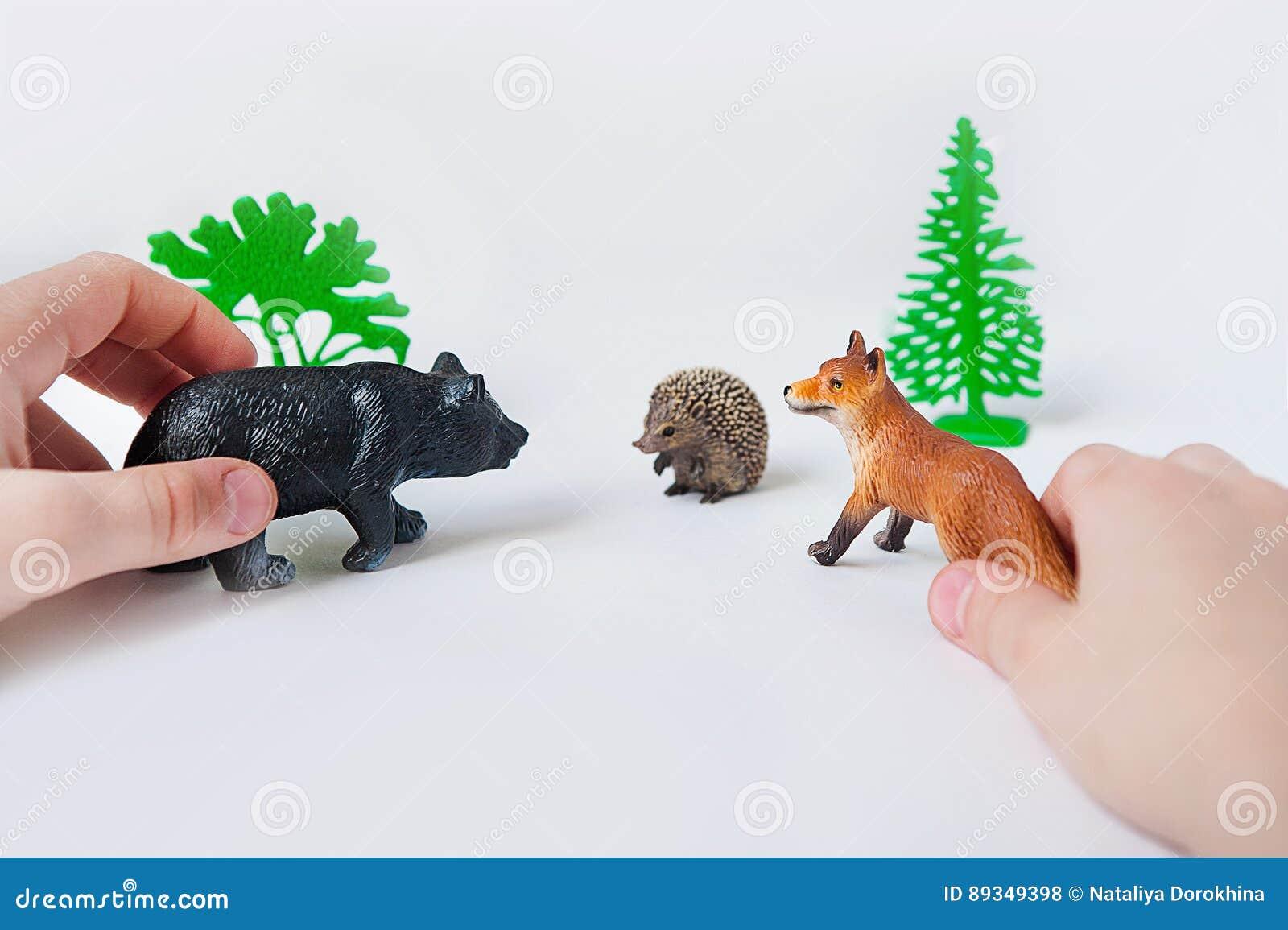 Foto dos brinquedos dos animais foto dos brinquedos dos animais selvagens