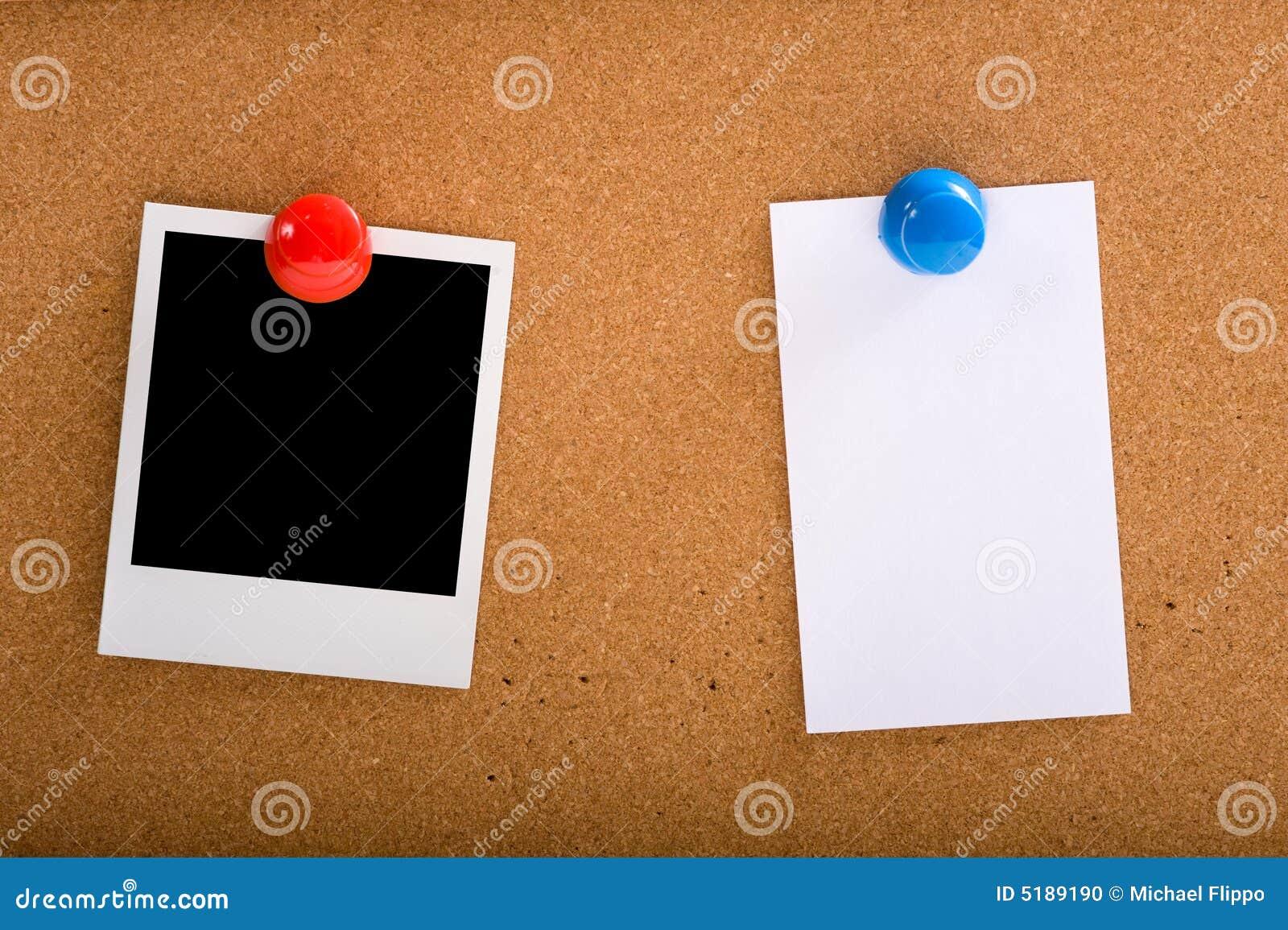 Foto e una nota