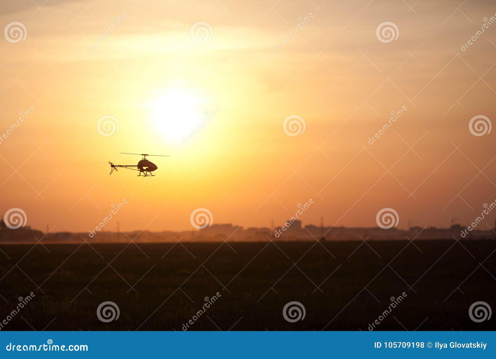 Foto eines RC Hubschraubers