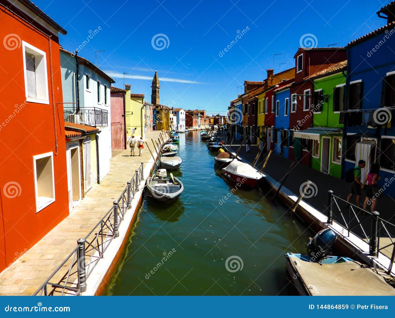 Foto hermosa de Murano - Venecia Italia