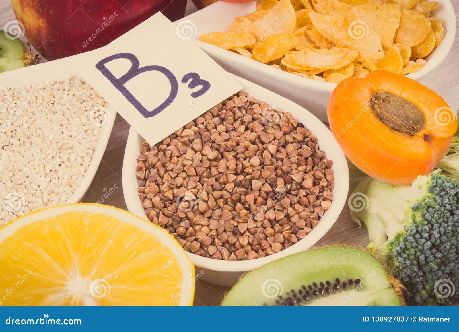 productos con vitamina b3