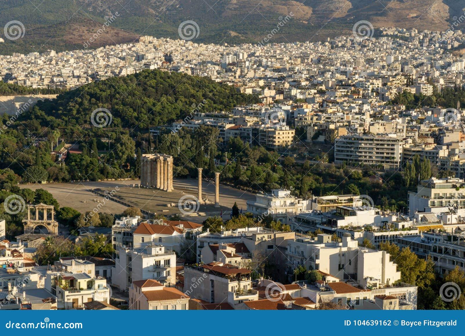 Download Foto Van Beroemd Roman Agora, Het Historische Centrum Van Athene, Attica, Griekenland Stock Foto - Afbeelding bestaande uit cultuur, achtergrond: 104639162