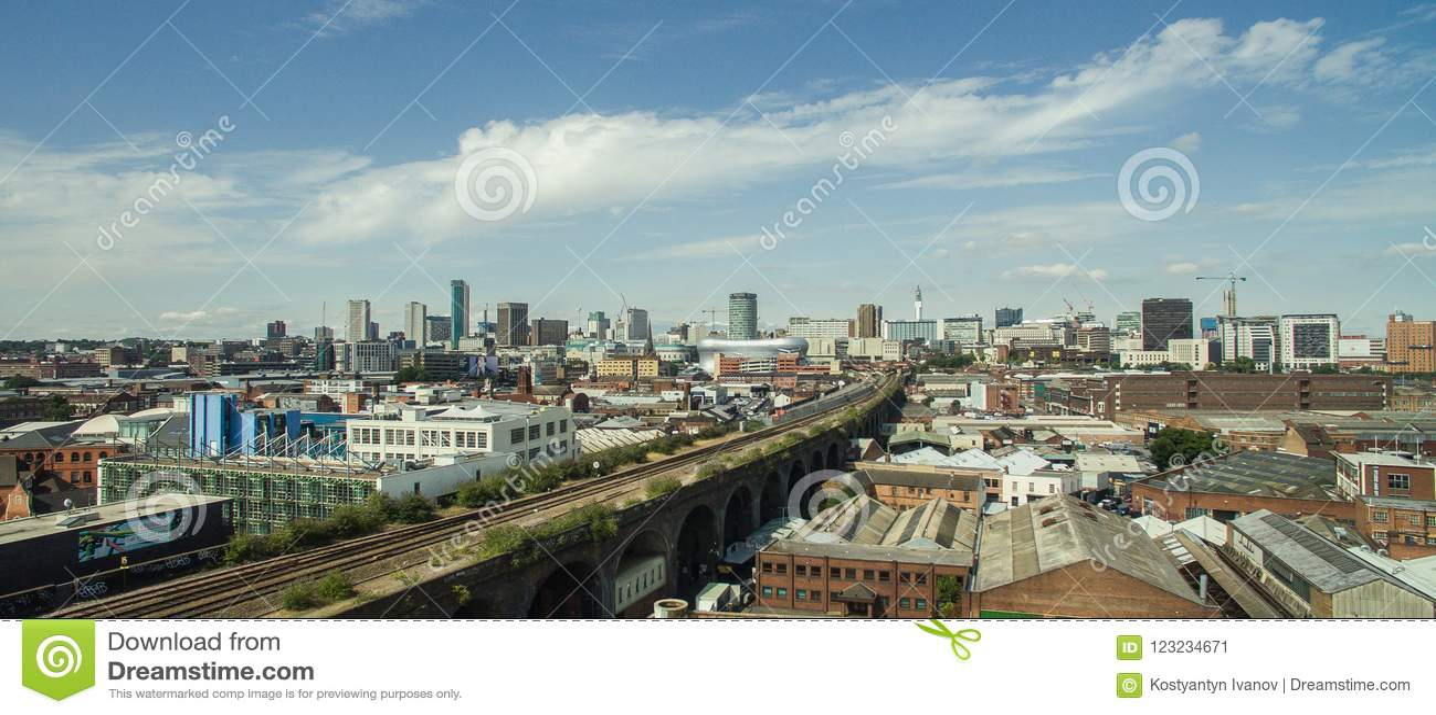 Foto van Birmingham, het Verenigd Koninkrijk door hommel wordt gemaakt die