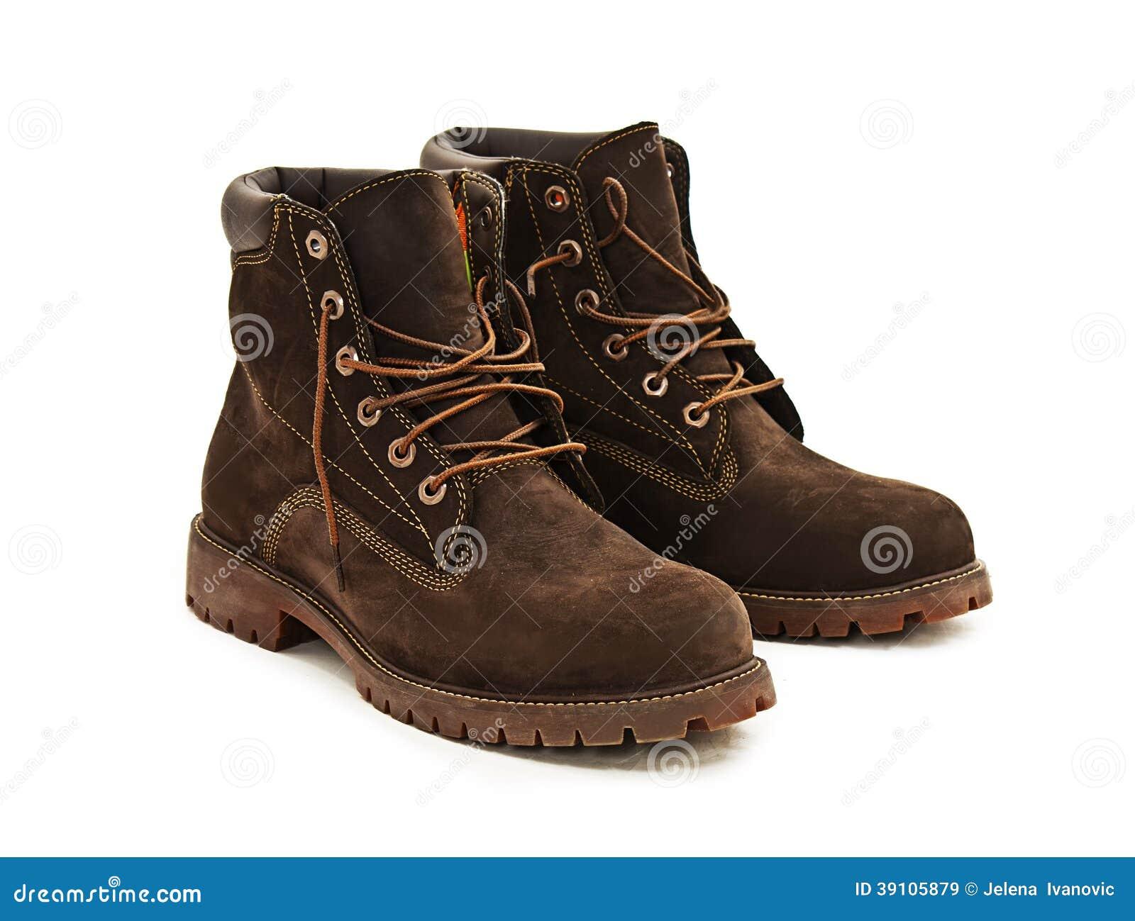 Foto van leer man laarzen