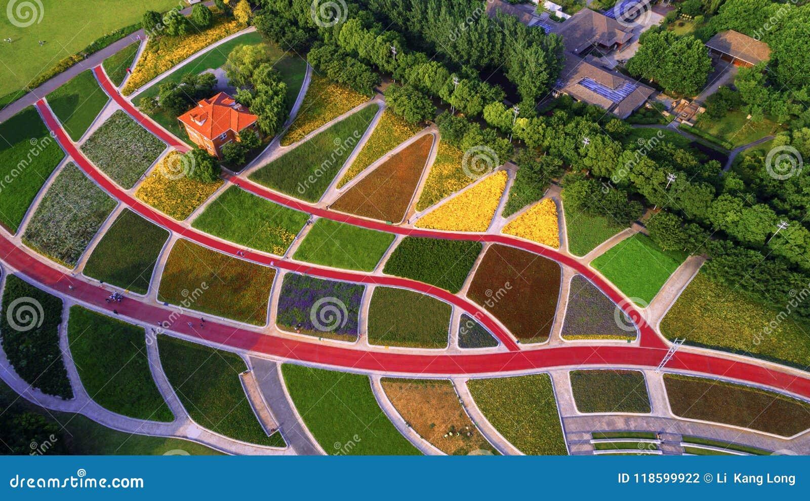 Fotografía aérea - pastoral rústico