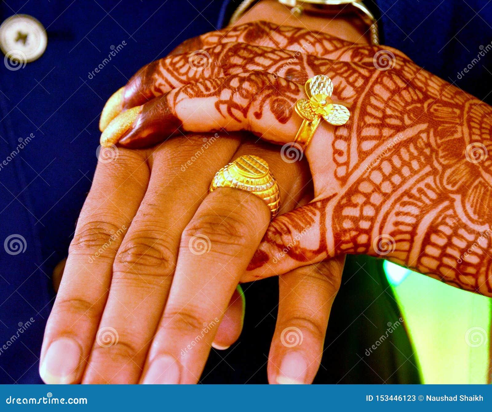 Fotografía india o Ring Ceremony del compromiso