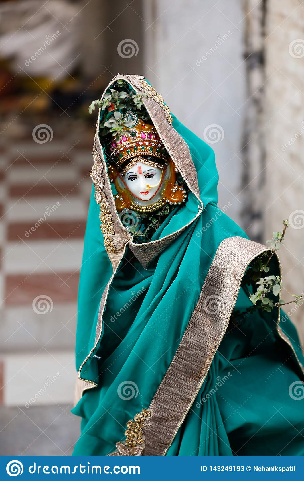 Fotografía santa de la boda de la albahaca