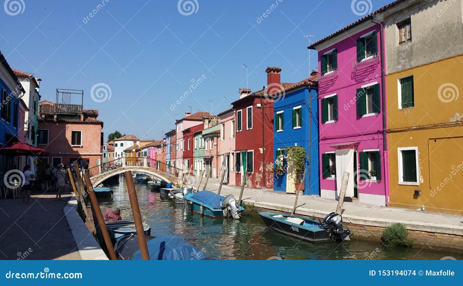 Fotografías de un paseo en Venecia