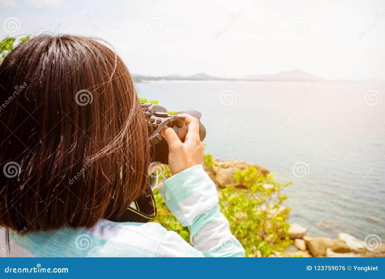 Fotografi för ung kvinna