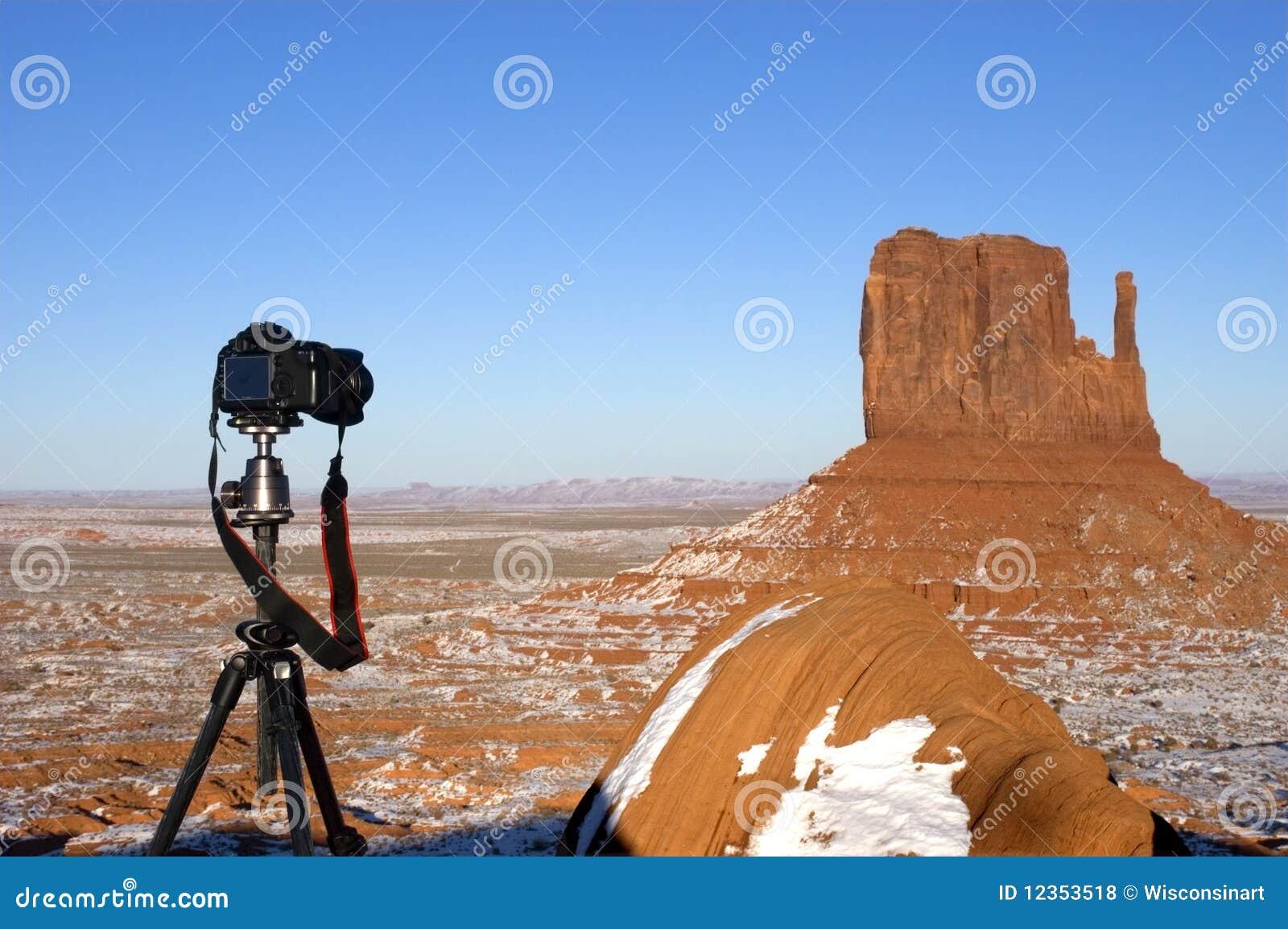 Fotografia da paisagem e do curso, passatempo, paixão