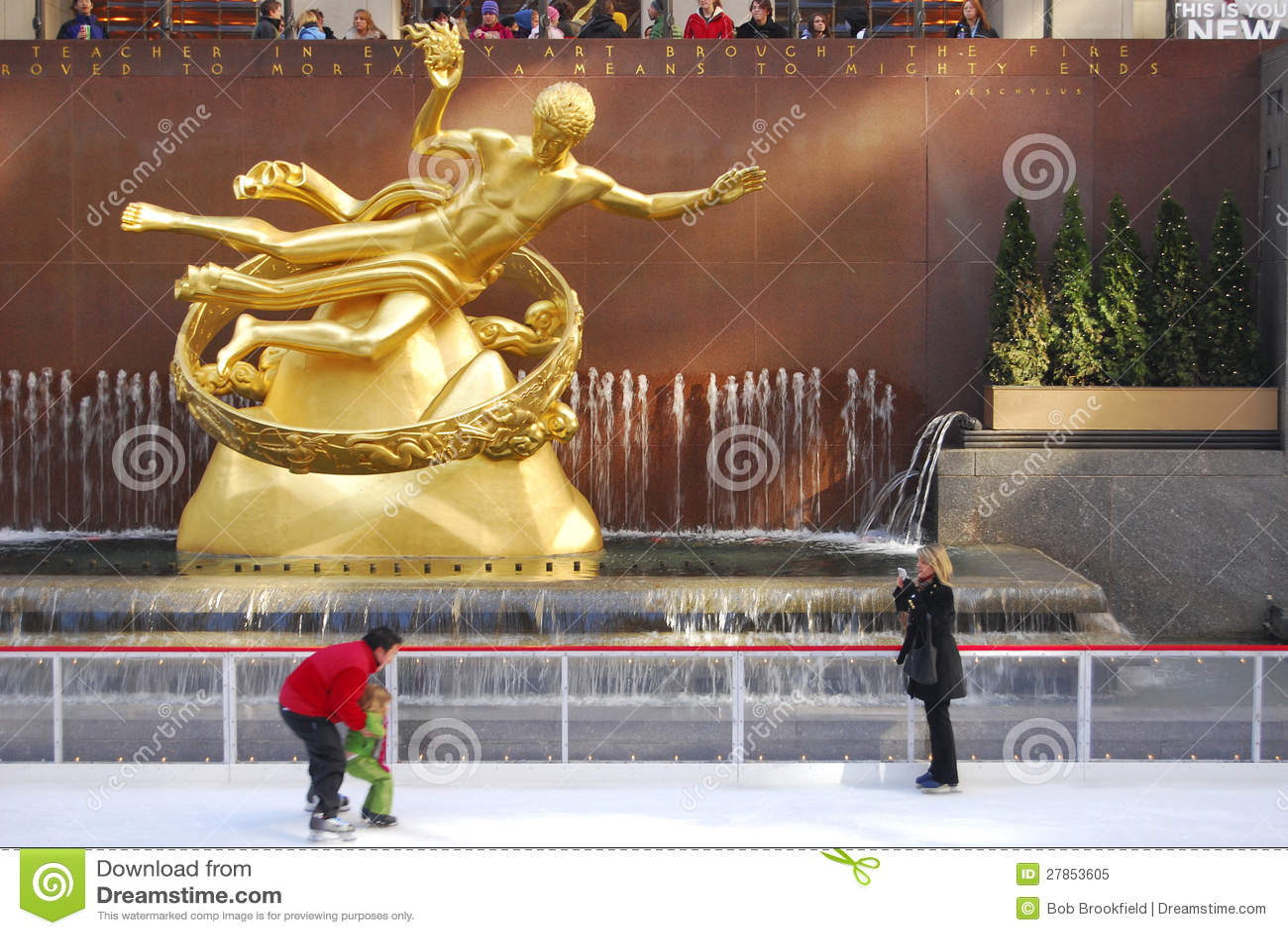 Fotografia, Rockefeller centre, NYC