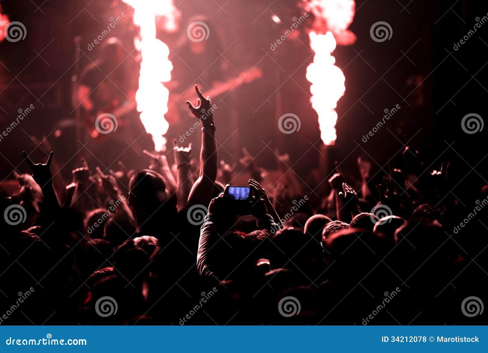 Fotografia rockowy koncert